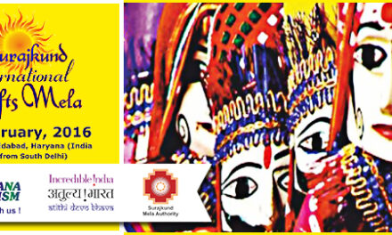 Shop for Indian handicrafts at Surajkund Mela