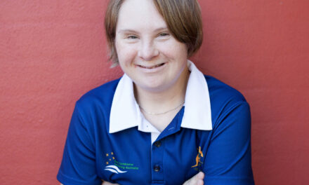 Ashley-Kate Schlenner – the swim champ!