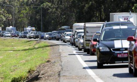 GRIDLOCK: 10km crawl after crash on Bruce Hwy