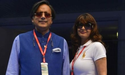India MP Shashi Tharoor charged over wife's death