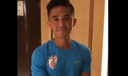 India captain Sunil Chhetri in plea to fans after only 2,569 watch cup game
