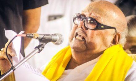 M Karunanidhi: Veteran Indian politician dies at 94