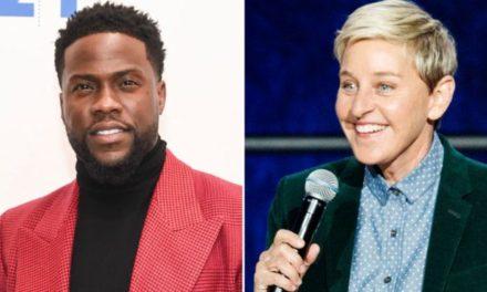 Ellen urges Kevin Hart to reconsider hosting the Oscars