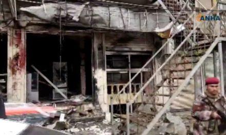 Syria war: 'IS suicide bomber' kills US troops in Manbij