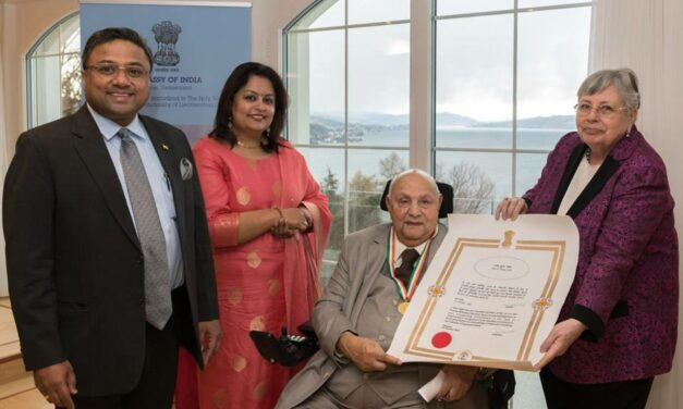 Press Release – RUJ Group's Dr. Rajendra Joshi Awarded by hon'able President of India for his Exemplary Contributions