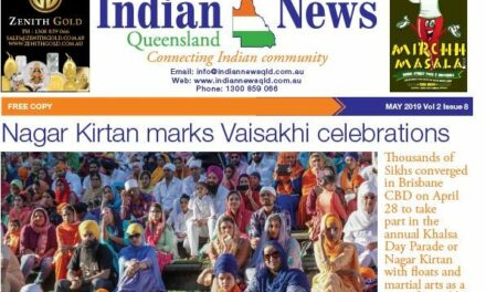 Indian News Queensland – May 2019 Vol 2 Issue 8