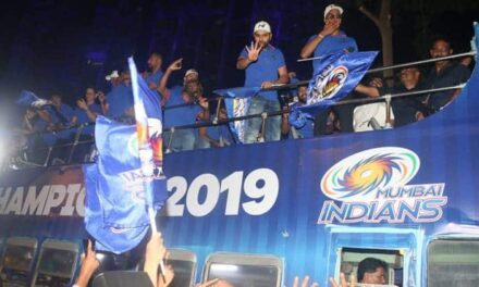 Mumbai Indians Get a Grand Welcome following IPL 2019 Triumph