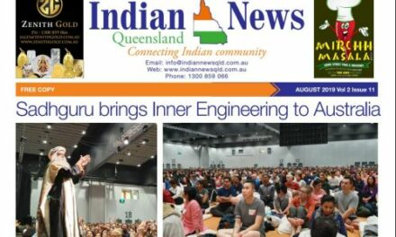 Indian News Queensland – August 2019 Vol 2 Issue 11