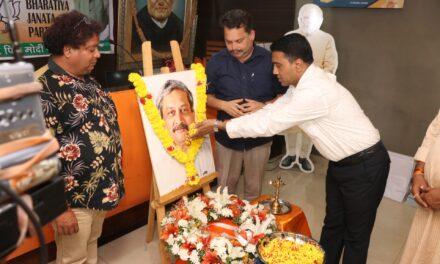Goa Debates Renaming Road After Manohar Parrikar