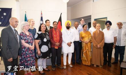 Multi Faith Groups Hold Prayers for Bushfire Relief