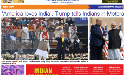 Indian News Queensland – March 2020 Vol 3 Issue 6