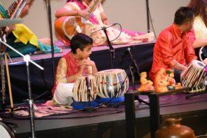 Master Rohan Manian on tabla