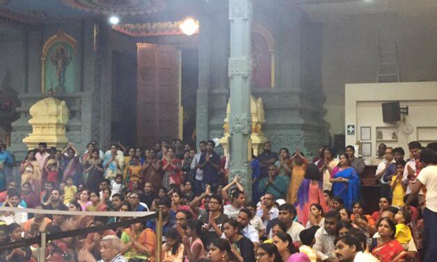 Shivaratri event held in Sri Selva Vinayakar temple