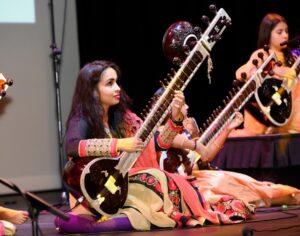 Sudha Manian on sitar