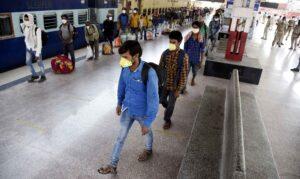 Bihar migrant labourers
