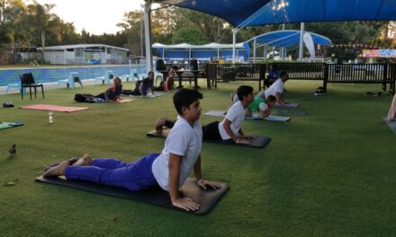 FICQ marks International Yoga Day with event in Brisbane
