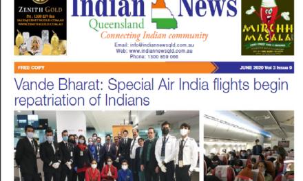 Indian News Queensland – June 2020 Vol 3 Issue 9