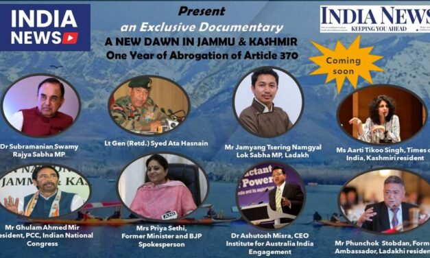 Coming Soon: Exclusive Documentary on the anniversary of the Abrogation of Article 370