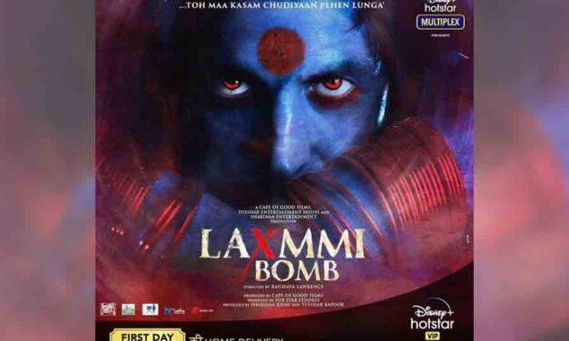 Akshay Kumar confirms Diwali release for 'Laxmmi Bomb' on OTT