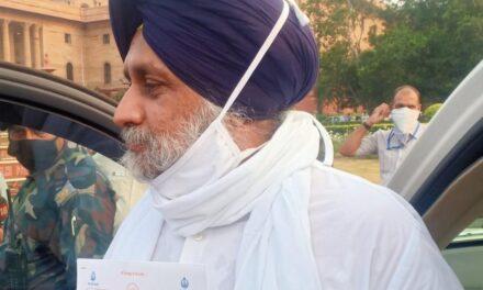 'Extremely unfortunate', says Sukhbir on Prez assent to farm Bills