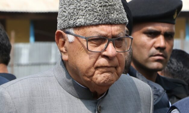 Farooq attends Parliament 1st time after Art 370 abrogation
