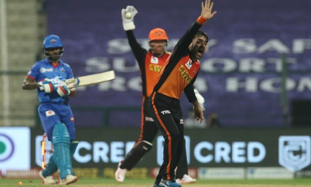 SRH open account with 15-run win over DC
