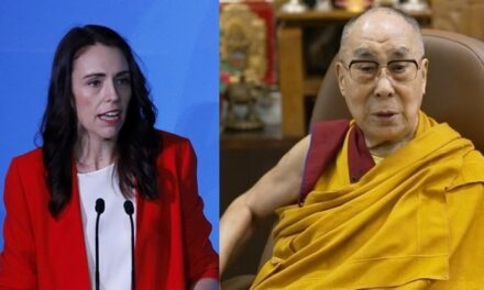 Dalai Lama congratulates NZ PM, wishes success in meeting challenges