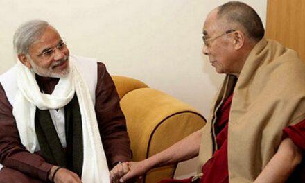 Dalai Lama greets Modi on his 70th birthday