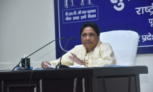 Mayawati ignoring Dalits is an 'old normal'