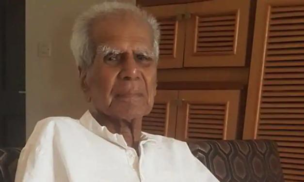 Versatile Kannada writer-critic G.S. Amur passes away