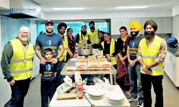 UNITED SIKHS providing succour to those in dire straits
