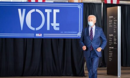 Biden addresses crowd in home state Delaware