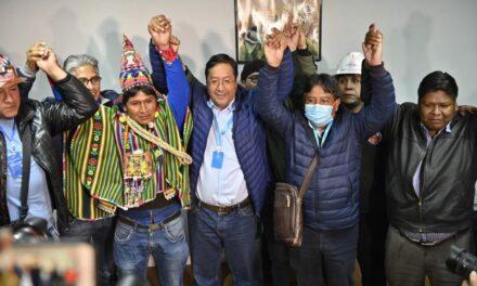 Luis Arce sworn in as Bolivia's new President