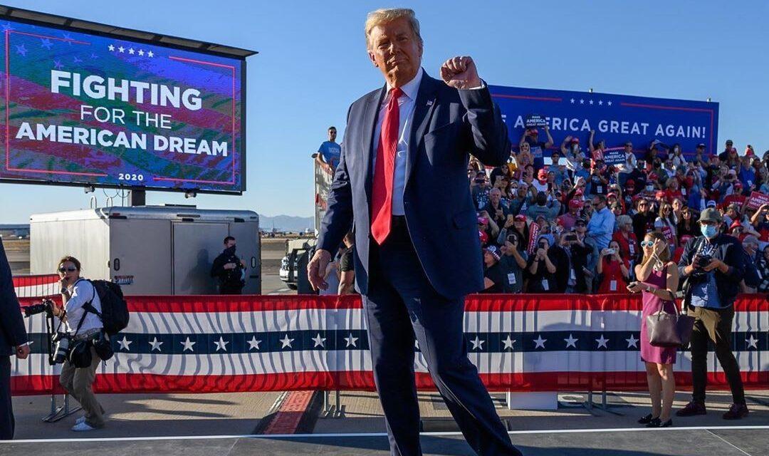 Trump misspells polls as 'Poles', Twitter blocks tweet amid trolls