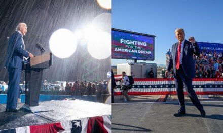 Trump alleges voter fraud; Biden says he's confident of win