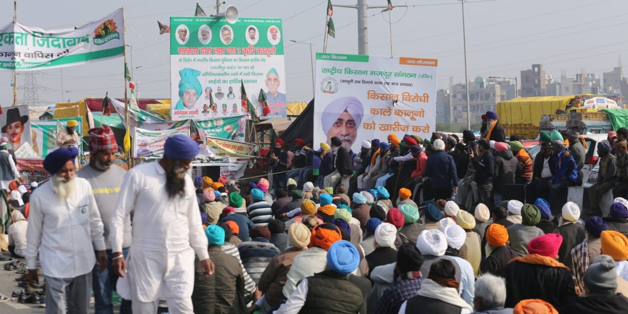Farmers' protest: Cremation of Sikh preacher on Friday