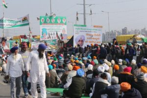 Farmers protest Cremation of Sikh preacher