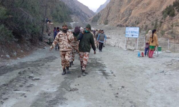 Over 150 missing, 10 bodies recovered in Uttarakhand: ITBP