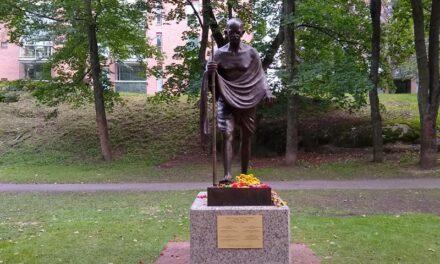 Biden spokesperson condemns Gandhi statue desecration