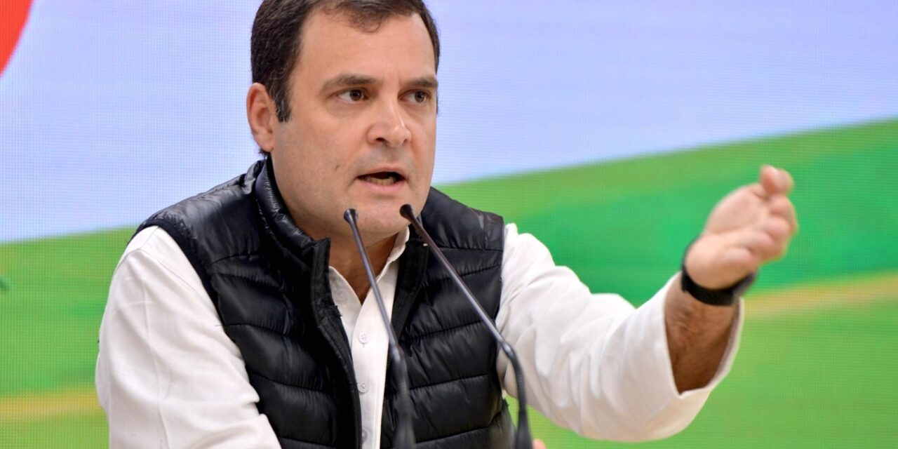 Rahul writes to Modi, criticises govt's Covid, vax strategy