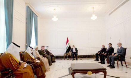 Top Iraqi officials meet GCC chief in Baghdad