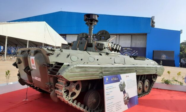 Aero India: Not fighter jet but infantry combat vehicle is showstopper
