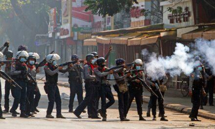 UN claims 18 deaths in Myanmar's weekend crackdown