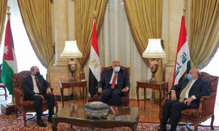 Iraqi, Egyptian, Jordanian FMs meet over trilateral summit