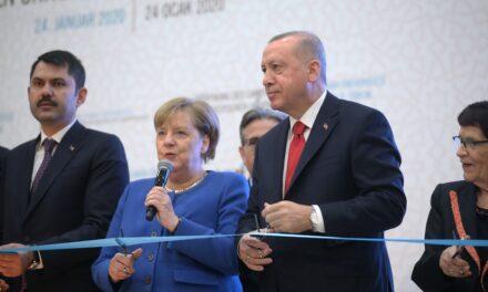 Erdogan, Merkel hold video conference
