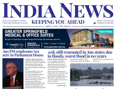 India News – April 1-15, 2021, Vol 1 Issue 19