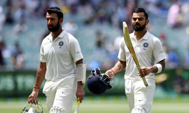 India pegged back as Eng take 3 wickets in 1st session