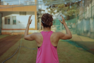 Taapsee Pannu trains in open ground amidst lockdown