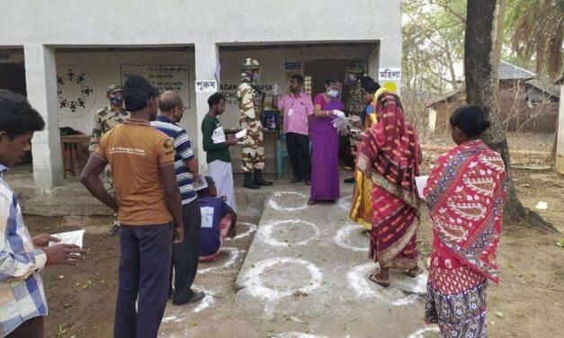 MPTC, ZPTC polls underway in Andhra after HC nod