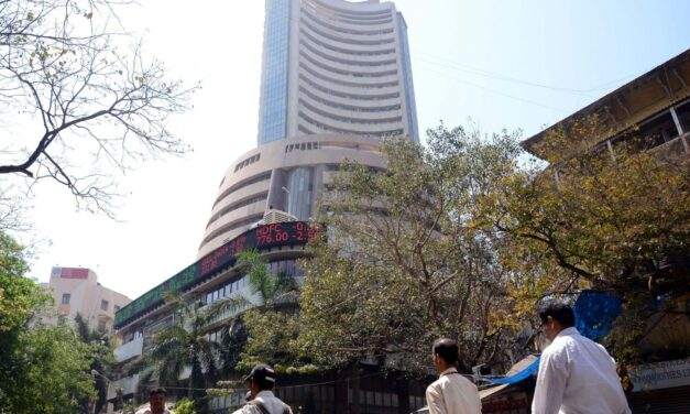 Sensex tanks 1,300 points; banking, auto stocks plunge